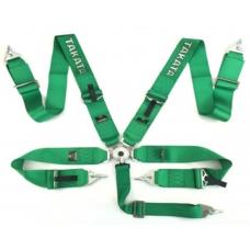 """5 punktu jostas, zaļas, Takata harness, 3"""""""