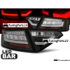Audi A5 Coupe (07-11) aizmugurējie LED lukturi, melni