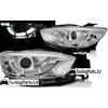 Mazda CX5 (11-15) priekšējie lukturi, LED dayline, DRL, hromēti, xenona