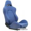 """Krēsls """"Drago"""", zils, regulējams + sliedes"""