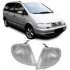VW Sharan / Ford Galaxy / Seat Alhambra (95-02) priekšējie pagriezieni, balti