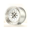 Alumīnija diski Japan Racing JR10 15x9 ET10 4x100/114 Machined Silver