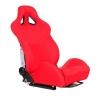 """Krēsls """"TURISMO"""", Sarkans, regulējams + sliedes"""