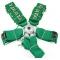 """6 punktu jostas, zaļas, Takata harness, 3"""""""