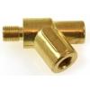 Eļļas spiediena temperatūras sensors adapteris Y M12xP1.0