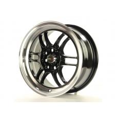 Alumīnija diski Japan Racing JR7 15x7 ET40 4x100/114 Gloss Black