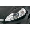 Fiat Grande Punto (05-..) priekšējo lukturu uzlikas, melnas