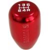 Ātruma pārslēgs, alumīnija, sarkans JDM 5B M10x1.25