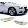 BMW E81 / E82 / E87 / E88 / E90 / E92 / E93 / X1 E84 LED sānu pagriezienu rādītāji, hromēti
