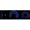 Mazda 323 FB J (98-03) plazmas spidometri 0-220km/h, balti