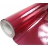 Pašlīmējošā plēve tumši sarkana holo/glancēta 1.52x30m