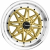Alumīnija diski Drag DR20 15x7 ET10 4x100 Gold
