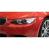 BMW E92/E93 priekšējo lukturu uzlikas, melnas