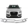 Audi Q3 8U Facelift (14-...) miglas lukturu rāmīši, hromēti