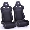 """Krēsls """"Koln"""", melns, regulējams + sliedes, labais + kreisais"""