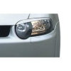 Alfa Romeo 147 priekšējo lukturu uzlikas, melnas