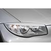 BMW E81 E82 E87 E88 priekšējo lukturu uzlikas, melnas
