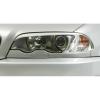 BMW E46 kupejas/kabrio (99-03) priekšējo lukturu uzlikas, melnas