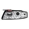 Audi A4 8E B6 (01-04) priekšējie lukturi, LED dayline, hromēti