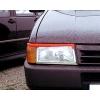 Fiat Uno (88- 95) priekšējo lukturu uzlikas, melnas