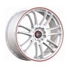 Tenzo-R Project-7 v1 18x8 ET45 4x100/114 White/Red